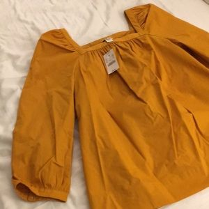 New With Tags- Jcrew Solid Penny Top